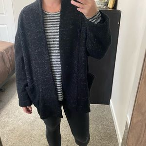 Urban Outfitters Oversized Open Front Cardigan Small